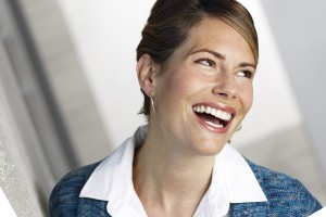 Invisalign-Business-Woman-Blue-Jacket-Hair-Up-Flipped-Rotated-30CCW